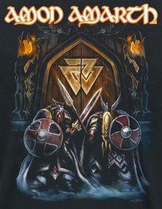 Hard Rock, Music Artwork, Metal Artwork, Art Music, Heavy Metal Art, Black Metal, Rock Y Metal, Viking Metal, Amon Amarth