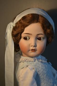 Antike Puppe!!! K & R 117N!!! 62cm!!! Um 1916!!!