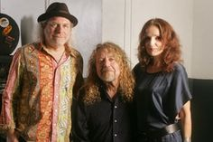 Robert Plant with Buddy Miller and Patti Griffin