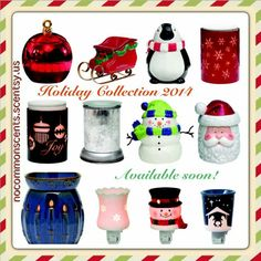 Holiday collection 2014 Www.kinnerkpetra. scentsy.us