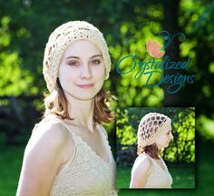 I like it but looking for the pattern  RTS Teen/Adult Crystalized Star Slouch Hat by CrystalizedDesign, $22.00