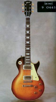 1959 Les Paul owned by Joe Perry, Slash and Eric Johnson. Guitar Pics, Music Guitar, Cool Guitar, Guitar Room, Ukulele, Guitar Chords, Acoustic Guitars, Gibson Les Paul, El Rock And Roll
