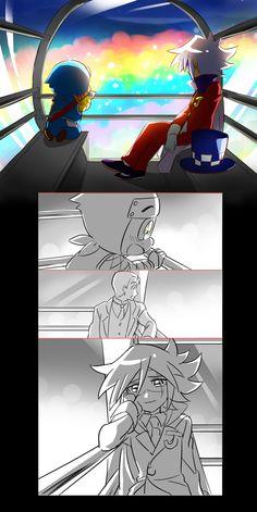 怪盗まとめ2 [15] | Daaaw, Hachi had better give Joker a big 'ol hug for this!