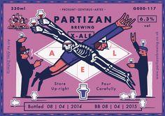 Partizan Brewing - X-Ale G000-117