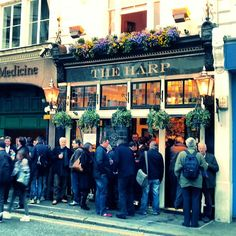 The Harp in Covent Garden, Greater London Best London Pubs, Best Pubs, Greater London, Covent Garden, Harp, Hanging Baskets, Craft Beer, Four Square, Street View