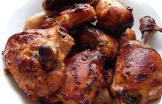 Aki unja a csirke pörkölt-sült-grill-rántott változatait, annak ajánljuk az alábbi receptet. Nem lehet elrontani és megunni, ahogy a neve is utal... Nigella, Main Meals, Tandoori Chicken, Chicken Wings, Cake Recipes, Chicken Recipes, Bacon, Paleo, Food And Drink