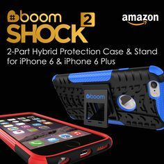 Now also available from Amazon in the UK!  The ULTIMATE iPhone 6 Case. ULTIMATE GRIP: Anti-slip edges & a rugged tire design helps you stop dropping your phone. BUILT IN STAND: Comfortable handsfree viewing of your movies, Skype or FaceTime video chat with the robust and stable kickstand. ADVANCED PROTECTION: 2 part design with cushioned corners & a raised front edge delivers great protection in a slim design. #iphone6 #iphone6case #apple #tech #amazon