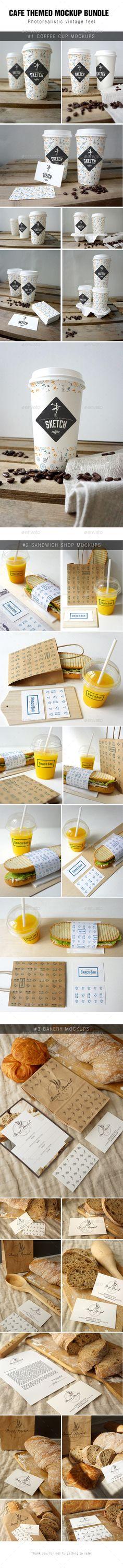 Cafe Branding Mockup Bundle | #brandingmockup #cafebrandingmockup | Download: http://graphicriver.net/item/cafe-branding-mockup-bundle/8853356?ref=ksioks