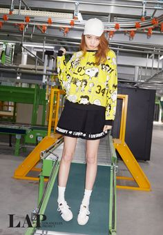 Lee Sung Kyung - LAP S/S 2015