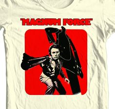 Magnum Force T Shirt Clint Eastwood Dirty Harry 70's Retro 80's Tees Shirt Punk | eBay