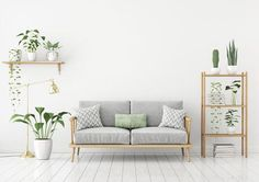 Green Oasis Collection - An oasis of calm with white, grey and green colors and materials like light-colored wood, natural textiles and glass. To spark things up, don't hesitate to play with prints in matching colors!