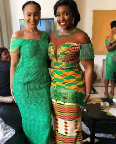 Elizabeth 💚😣 Kente- Dress- Groommen's Attire- Best African Dresses, Latest African Fashion Dresses, African Print Dresses, African Print Fashion, African Attire, African Wear, African Women, African Prints, African Style