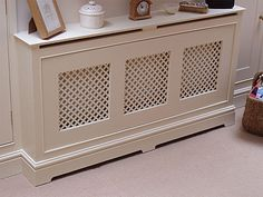 Handcrafted bespoke radiator covers built for you by Fine Wood DesignsFine Wood Designs Ltd Metal Radiator Covers, Henley Homes, Hall Colour, Wood Design, Interior Architecture, Diy Home Decor, Furniture, Radiator Ideas, Heater Covers