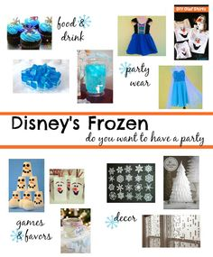 Throwing a Frozen Party