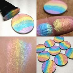 rainbow highlight- How to highlight your cheek and lips http://www.justtrendygirls.com/how-to-highlight-your-cheek-and-lips/