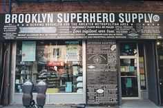 Brooklyn Superhero Supply Co. | 9 NYC Storefronts With Secret Identities