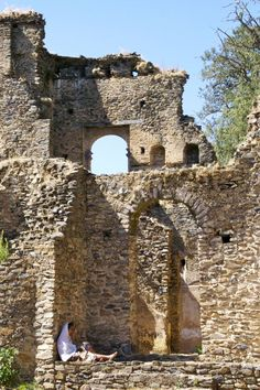 The four hundred year old Fasilides Castle- Gonder, Ethiopia