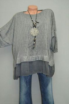 thought for refashioning clothes, free spirited, hippie, comfortable recycled shirt - Refashion Diy Clothes, Sewing Clothes, Clothes For Women, Refashioning Clothes, Refashioned Clothing, Clothes Refashion, Recycled Clothing, Mode Outfits, Casual Outfits
