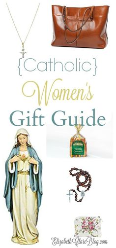 The perfect gifts for the Catholic lady for every budget. Whoever the Catholic woman is, mom, wife, sister, or friend, or whether it's a birthday, Mother's Day, Christmas, or other special occasion.