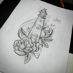 12 Tattoo Vorlagen Leuchtturm – small tattoo for women 12 Tattoos, Kunst Tattoos, Body Art Tattoos, Small Tattoos, Sleeve Tattoos, Cool Tattoos, Sleave Tattoos For Women, Ship Tattoos, Ankle Tattoos