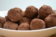 Chocolate Raspberry Paleo Truffles