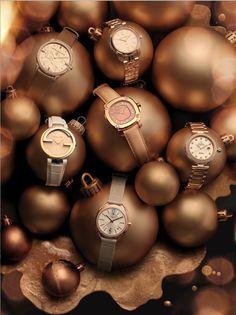 Christmas watch still life Inspire Magazine Jewellery Editor: Bettina Vetter Photographer: David Newton