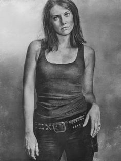 THE WALKING DEAD - Maggie - US Textless Imported TV Series Wall Poster Print - 30CM X 43CM Brand New