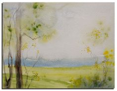 Original Watercolor painting 10X8 Original by WatercolorsTR