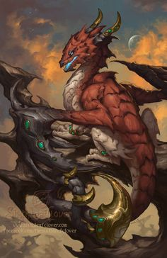 2014 Zodiac Dragons Scorpio by The-SixthLeafClover.deviantart.com on @deviantART