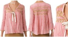 One Left - Odd Molly Sparkly Remix Blouse 261a, Lite Pink! :: Bohemia