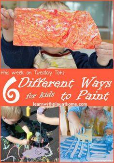 6 ways to paint