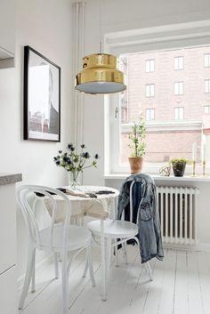 Beautiful nook for morning coffee - Scandinavian design