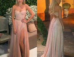 Vestido de festa verão 2017 para madrinha e formandaWant a glamorous red carpet look for a fraction of the price? This exquisite dress would be perfect as a bridesmaid dress or to wear to a prom. Ide..