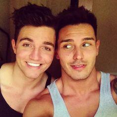 Trent Owers and Luke Shayler