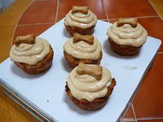 Holy Cannoli Recipes: Grain-Free Peanut Butter Apple Pupcakes