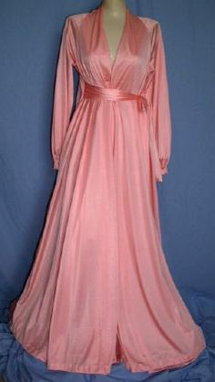 Vintage Gown & Peignoir