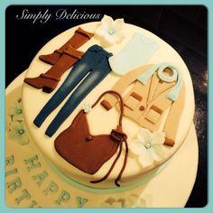 A different take on a fashion cake!
