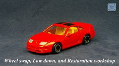 TOMICA 015E NISSAN FAIRLADY Z32 300ZX #WHEELSWAP #LOWDOWN | v.29 | TOMY 2G Old Models, Diecast, Nissan, Auction, Mesh, Car, Silver, Tomy, Automobile