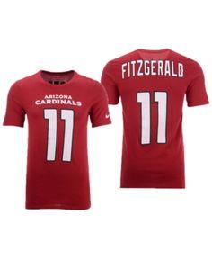 Nike Men Larry Fitzgerald Arizona Cardinals Pride Name and Number Wordmark T -Shirt 0cb23d7e5