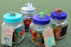 DIY party favors for Good Dinosaur birthday party! Simple and fun for any party.