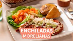 Enchiladas, Chile Guajillo, Tacos, Ethnic Recipes, Youtube, Food, Cooked Chicken, Mexican Meals, Mexican