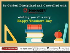 Q-Manager Saying thanks to all the teachers on this Teachers Day. #HappyTeachersDay #TeachersDay