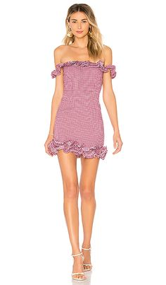 28a3434ca21c Shop for Lovers + Friends Dustin Mini in Magenta at REVOLVE. Free day  shipping and returns