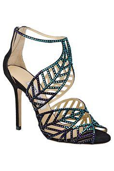Jimmy Choo Crystal Sandal 2014 Spring-Summer....I'm in love!!!