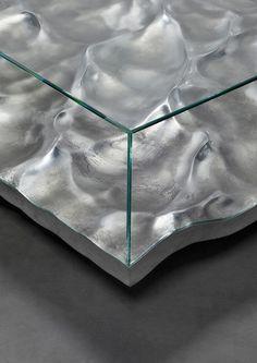 mathieu lehanneur liquid marble aluminium tables carpenters workshop gallery…