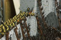Battle for Helms Deep by Rich-K and Big J from Geekologie