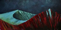 Arran mountains by Scottish contemporary landscape painter J Mackintosh Landscaping Tips, Garden Landscaping, Isle Of Arran, Contemporary Landscape, How To Look Better, Mountains, Art Paintings, Front Yard Landscaping, Painting Art