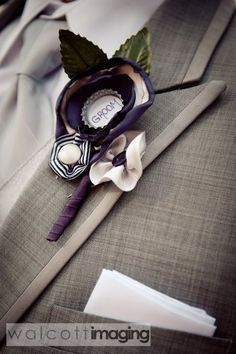 beer cap boutonniere