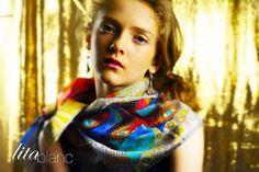 Foulars + Lita Blanc * N°1 2014 http://www.alittlemarket.com/boutique/lita_blanc-34641.html