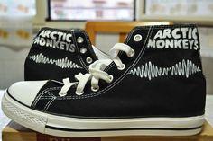 Arctic Monkeys Handpainted Shoes